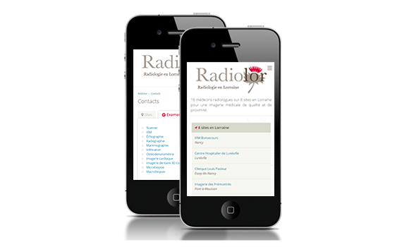 Site mobile Radiolor